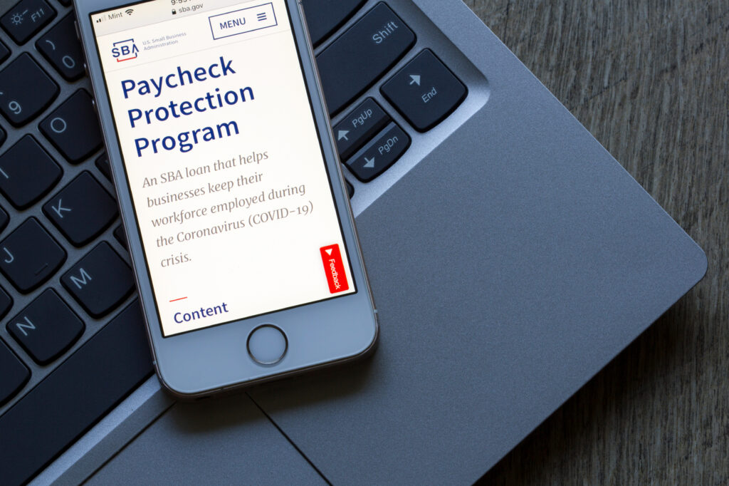 Paycheck Protection Program Information coming from the Small Business Association